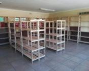 A school workshop area
