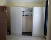 A white cupboard