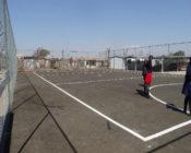 A netball court