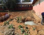 A well outside a school